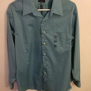 Blue Arrow Dress Shirt